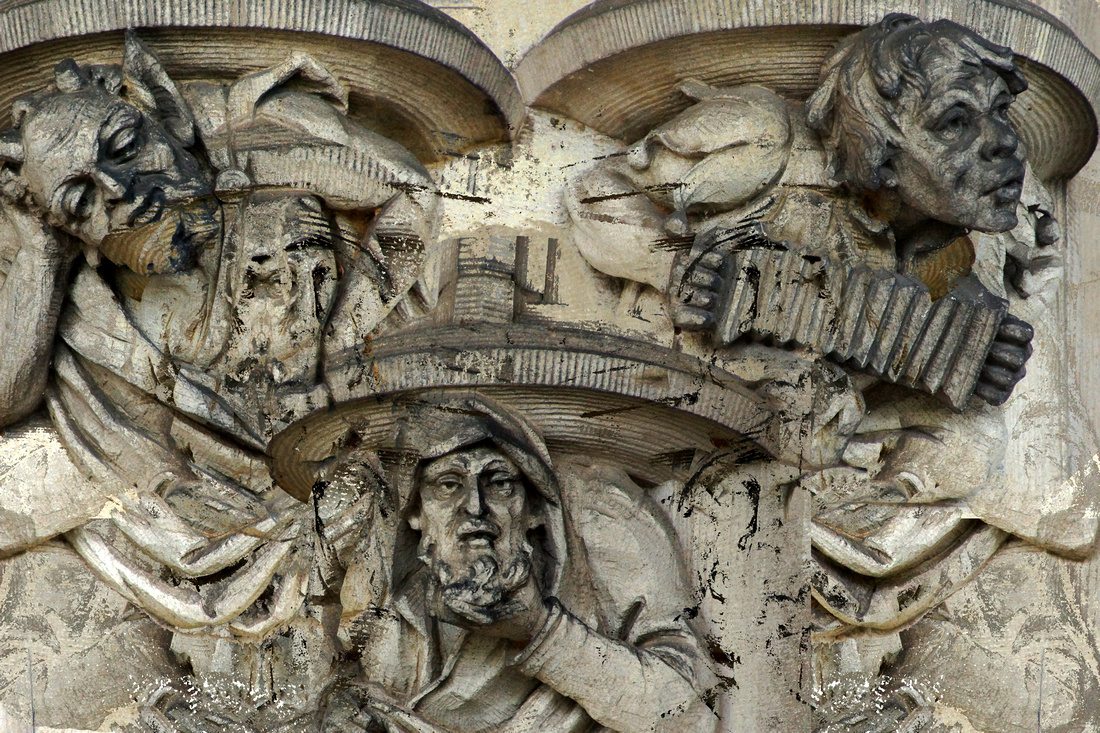 Three Grotesques